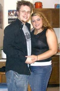 Lauren and Jeff in winter 2005